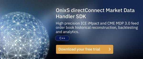 OnixS directConnect ICE and CME Market Data Handler SDK